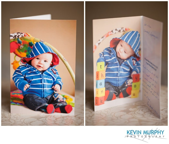 Thank You Cards Baby Photography