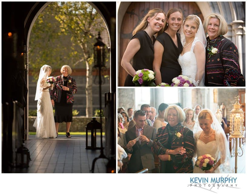 Wedding at the Holy Trinity church in Adare, Co. Limerick