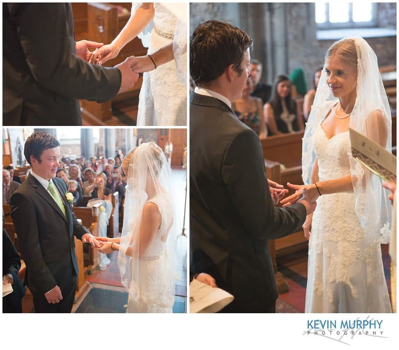 Exchange of rings in Holy Trinity abbey Adare