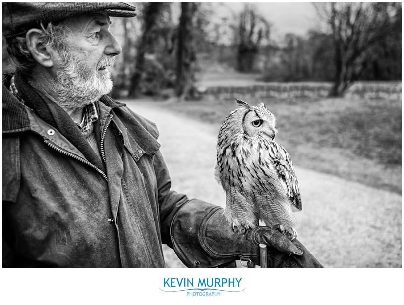 Pat and Solomon the owl