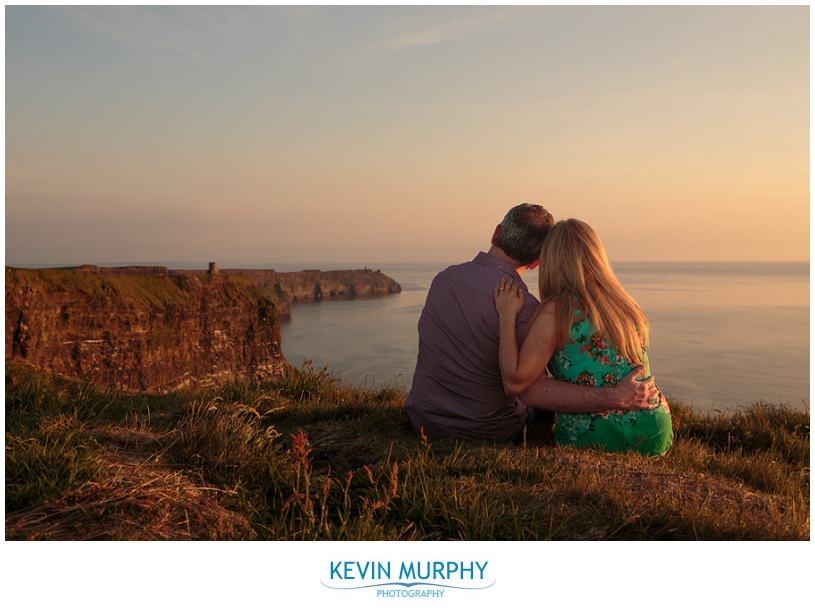 cliffs of moher engagement session photo