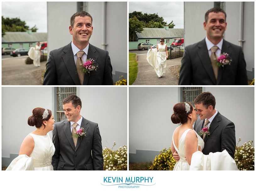 first look wedding photography photo