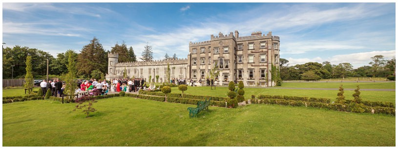 ballyseede castle wedding photography