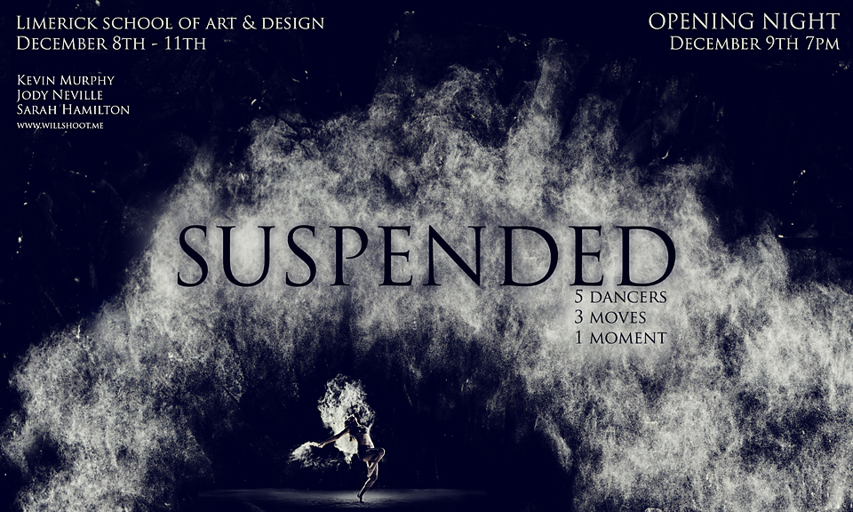 suspended exhibition