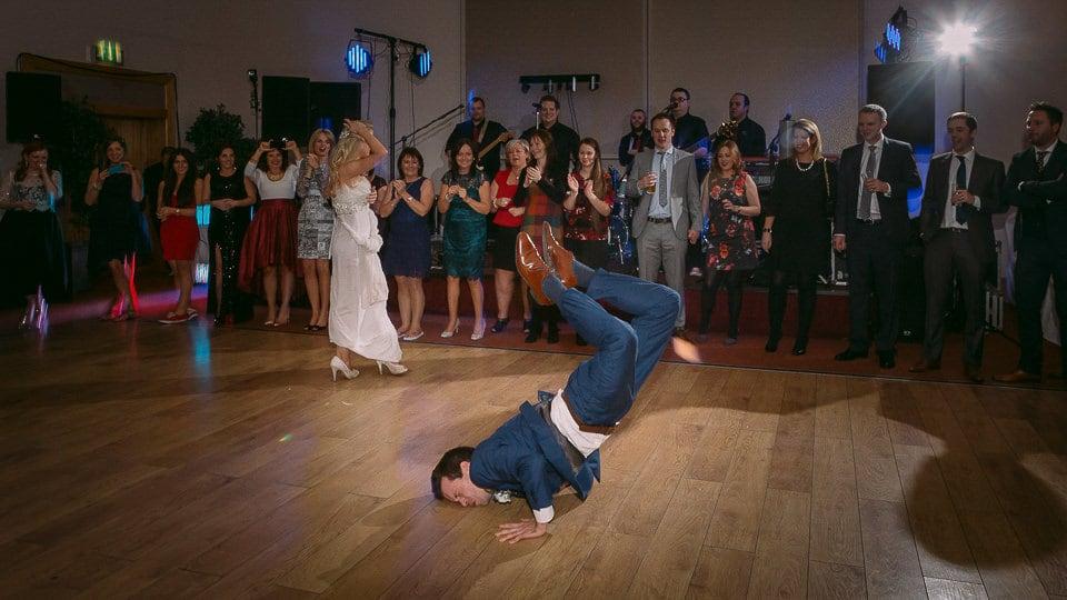 dancing wedding photographer