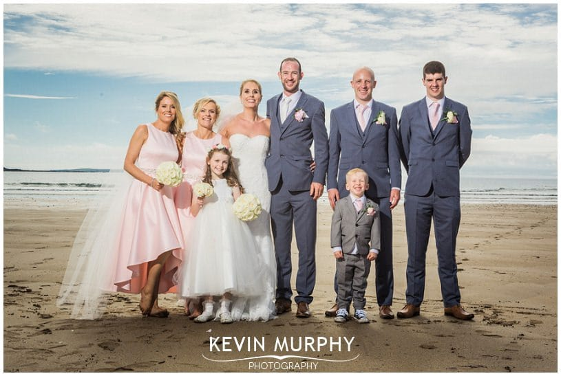 armada wedding beach bridal party