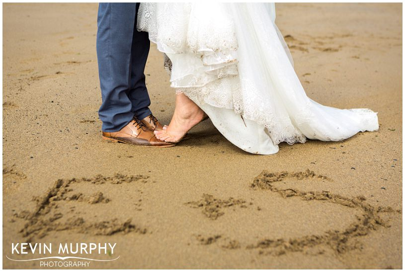 armada wedding beach barefoot