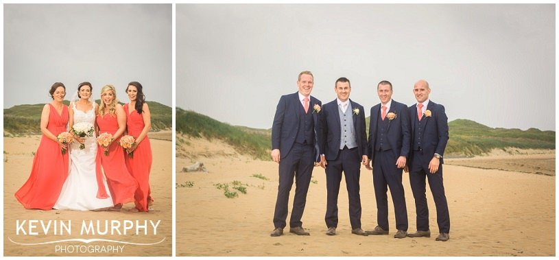 beach wedding photographer lahinch