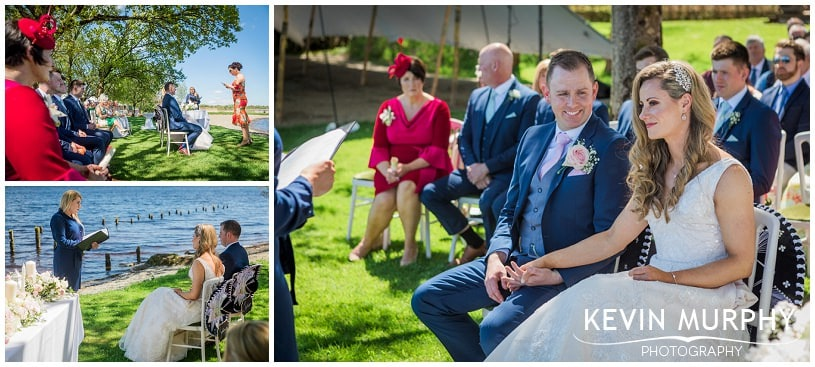 outdoor ceremony in killaloe