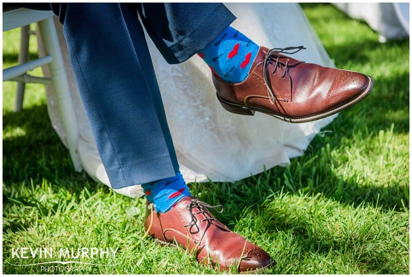 quirky wedding socks