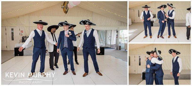 the three amigos wedding dance