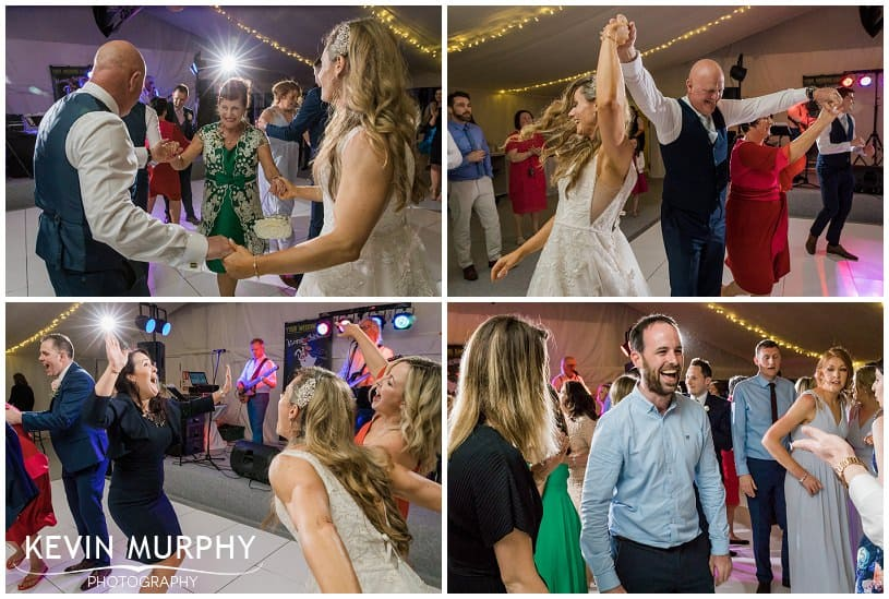fun dancing photo at wedding