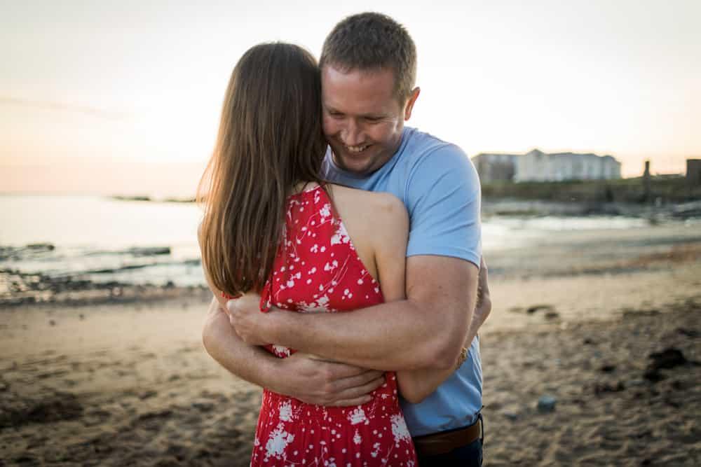 engagement photoshoot beach