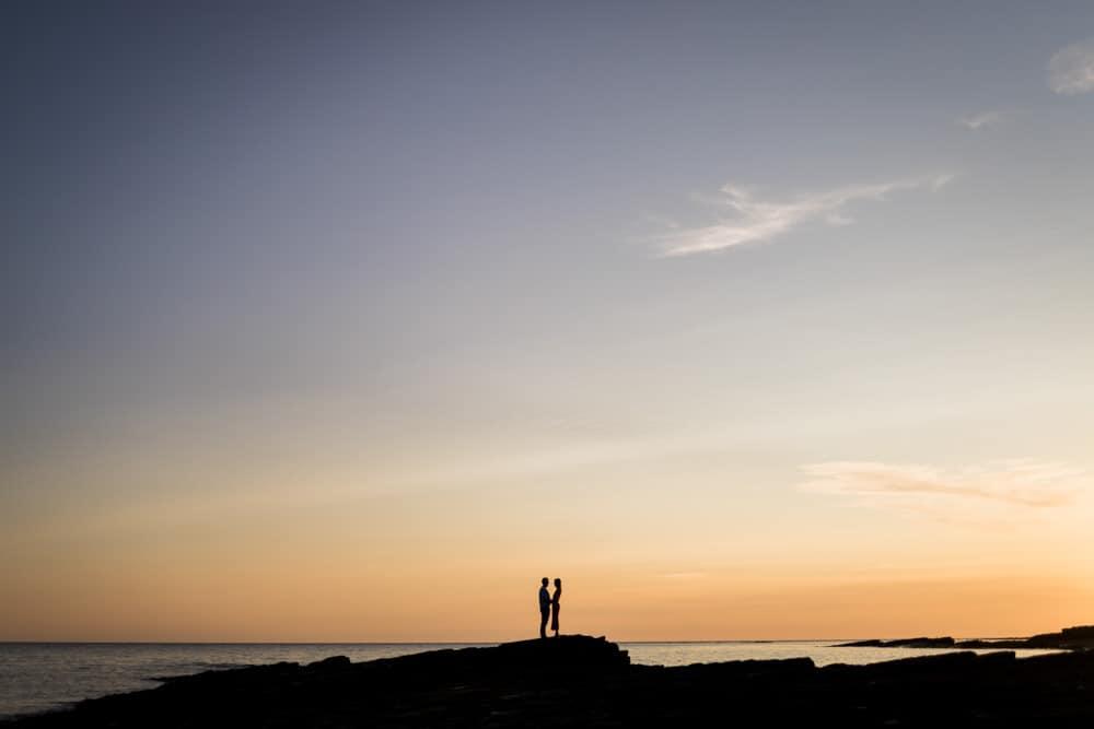 engagement photoshoot sunset armada