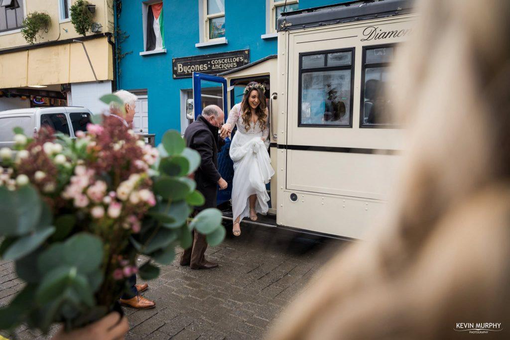wedding vintage bus