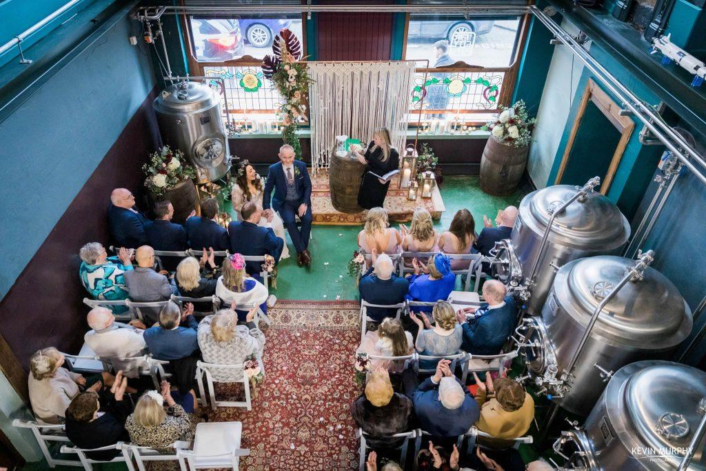 treaty city brewery wedding