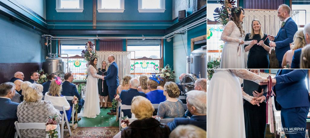 getting married in treaty city brewery